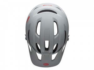 Kask full face BELL SANCTION nitro circus gloss silver blue red